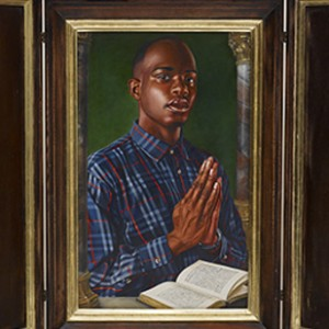 black boy pray