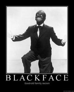 black face racism