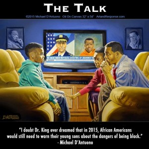The Talk #BlackLivesMatter black people parents kids children love inequality 2015 african americans