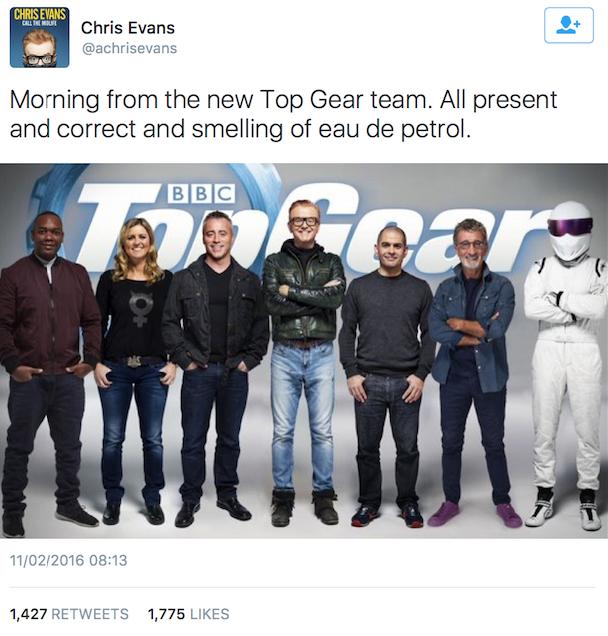 Matt Le Blanc Top gear friends
