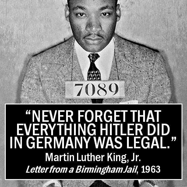 martin luther king legal