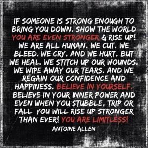 stronger antoineallen quote
