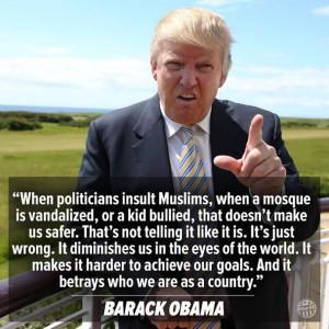 trump obama islam