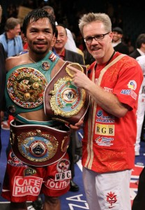 freddie roach, pacman, boxing, training, trainer, coach, manny,