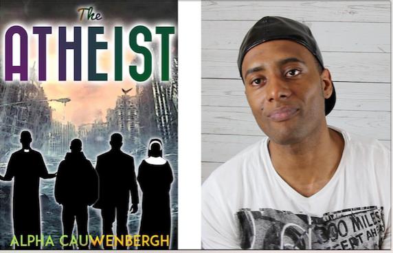 Alpa Cauwenbergh, the atheist, book, writer, black author