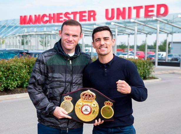 anthony crolla, wayne rooney, boxing, man u