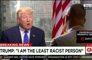 Trump not racist