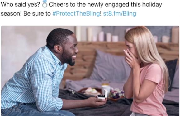 racist tweet, interracial couple, racism, sex white mom, black man engagement, black man wedding, white woman, black man and white woman
