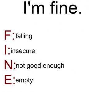 depression, fine, help, self help