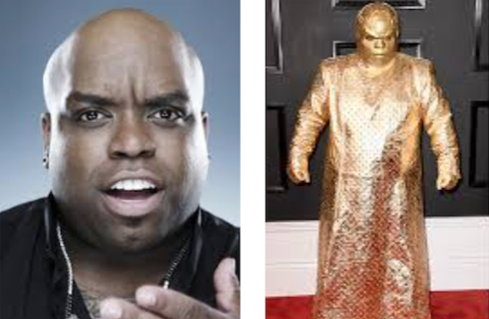 Grammys, ceelo, outfit