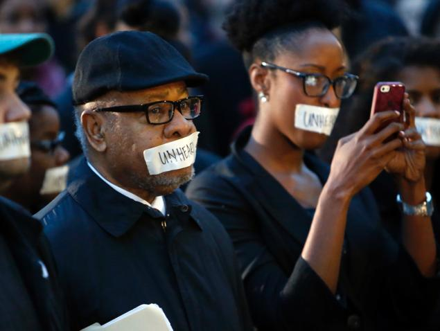 blacklivesmatter silence protest image powerful black people