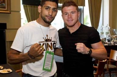 Boxing lightweight Amir, Khan, Canelo,