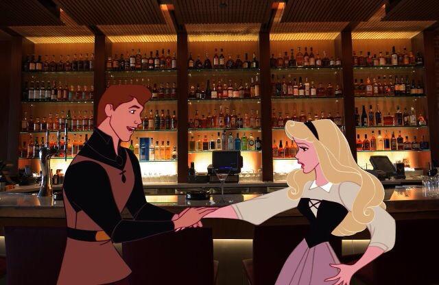 bar scene grab drunk