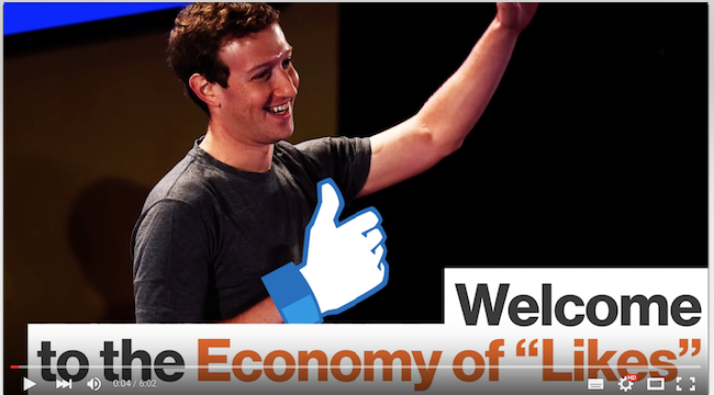 Facebook meaningless economy