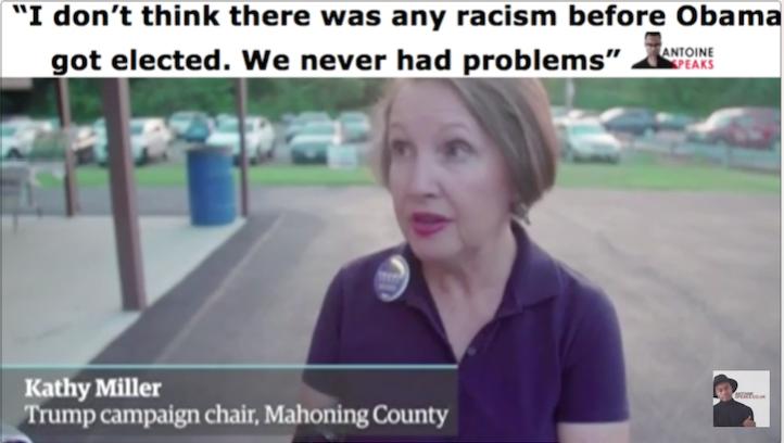donald trump, kathy miller, barack obama, racism