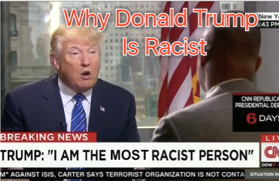 donald trump, donald trump racist, racism trump, kkk, alt-right