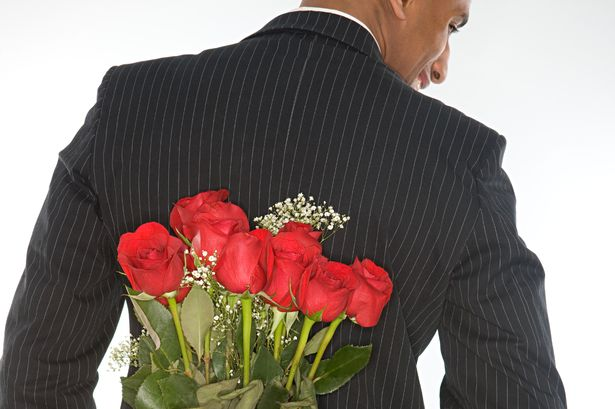 flowers for valentine's day, men showing love, men expressing love, men feelings, feelings of love, valentine's day, poems about love