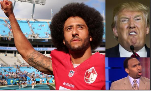 Donald Trump, Colin Kaerpernick, NFL