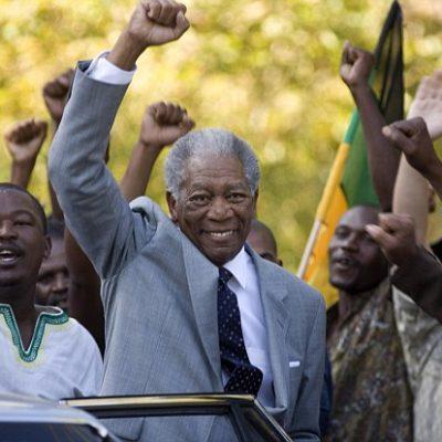 Nelson Mandela, Morgan Freeman