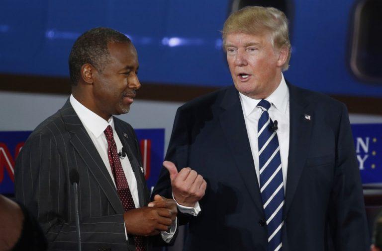 black friend, ben carson, donald trump