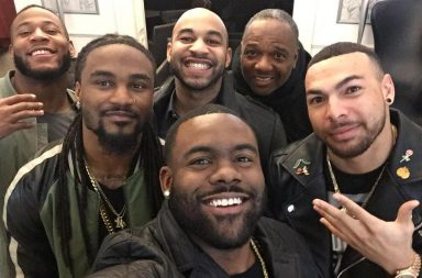 New Orleans Saints, NFL Black Players, selfie