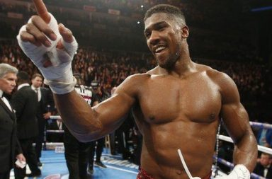 anthony joshua knockout, boxing, black man,