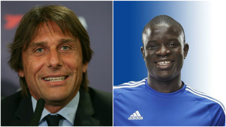 chelsea manager, chelsea player, kante and conte,