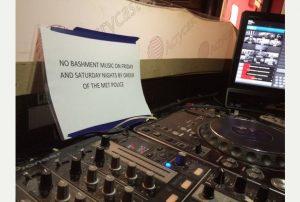 no bashment, no hip hop, no black music