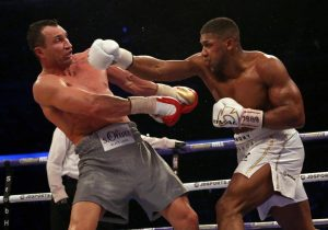 boxing, anthony joshua, wladmir