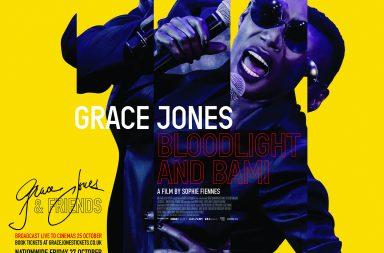 grace jones, poster, documentary