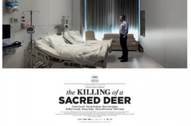 film review, the killing of the sacred deer, colin farrell,