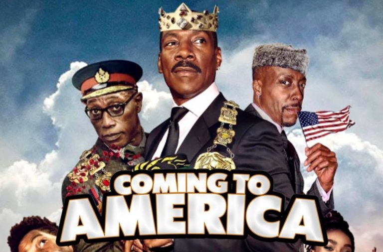 Movie poster for Coming 2 America